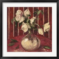 Fading Peonies Framed Print