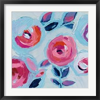 Wall Flower II Framed Print