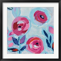 Wall Flower III Framed Print