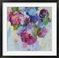 Pink and Blue III Framed Print