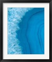 Agate Geode I Framed Print