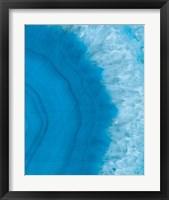 Agate Geode II Framed Print