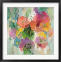 Colorful Garden II Framed Print