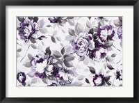 Framed Scent of Roses Plum