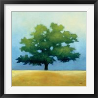 Under the Oak I Framed Print