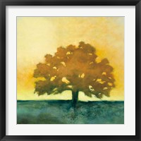 Under the Oak II Framed Print