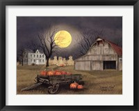Framed Harvest Moon