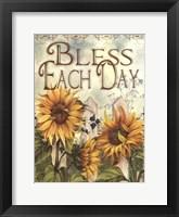 Framed Bless Each Day