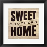 Framed Sweet Southern Home