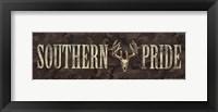 Framed Southern Pride
