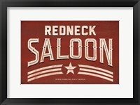 Framed Redneck Saloon