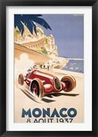 Framed Monaco August