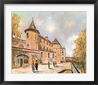 Framed Chateau De Chastelloux