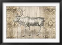 Framed Natural History Lodge IX