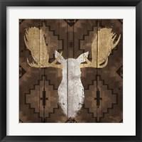Framed Precious Antlers III