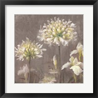 Spring Blossoms Neutral III Framed Print