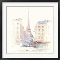 Paris Morning Square Framed Print