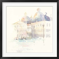 Venice Evening Square Framed Print