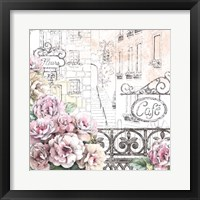 Framed Paris Roses I