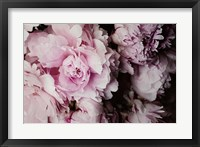Peonies Galore I Framed Print