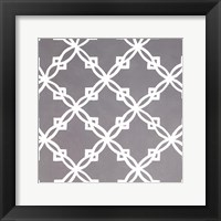 Framed Latticework Tile I
