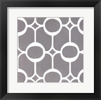 Framed Latticework Tile II