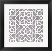 Framed Latticework Tile III