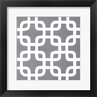 Framed Latticework Tile IV