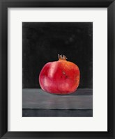 Framed Fruit on Shelf V