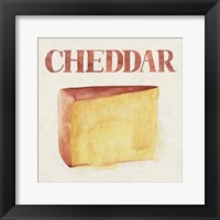 Fromage IV Framed Print