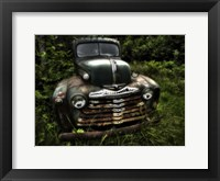 Rusty Auto I Framed Print