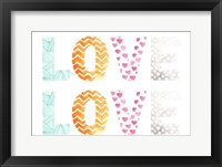 Pattern Sentiment I Framed Print