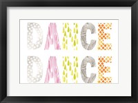 Pattern Sentiment IV Framed Print