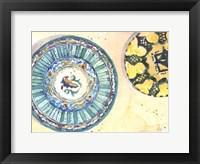 Plate Study I Framed Print