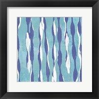 Pattern Waves I Framed Print