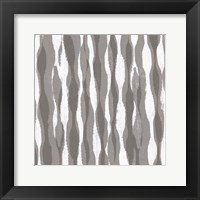 Pattern Waves II Framed Print