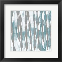 Pattern Waves III Framed Print