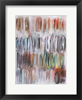 Paint Scribble II Framed Print