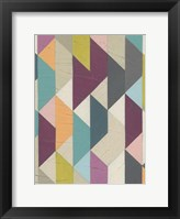 Confetti Prism V Framed Print