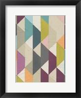 Confetti Prism VI Framed Print