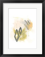 Side Swipe I Framed Print