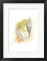 Side Swipe III Framed Print