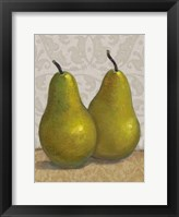 Pear Duo II Framed Print