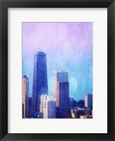 Chi Town I Framed Print