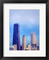 Chi Town II Framed Print
