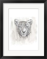 Big Cat Study IV Framed Print