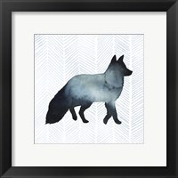 Animal Silhouettes II Framed Print