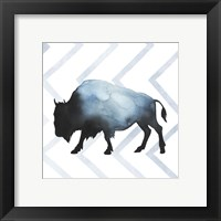 Animal Silhouettes IV Framed Print