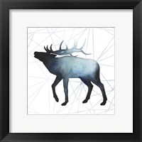 Animal Silhouettes VI Framed Print