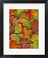 Fallen Leaves I Framed Print